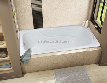 One Person Built-in Cast Iron Bath tub