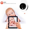 Wi-Fi H.264 Network Protocol 720P 64G TF Card Cloud Portable IP Camera With Alarm Surveillance