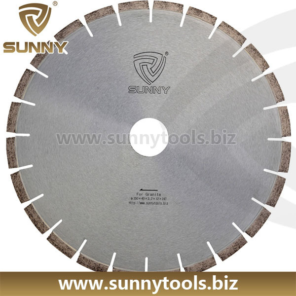 350mm diamond ring saw blade and segment for granite