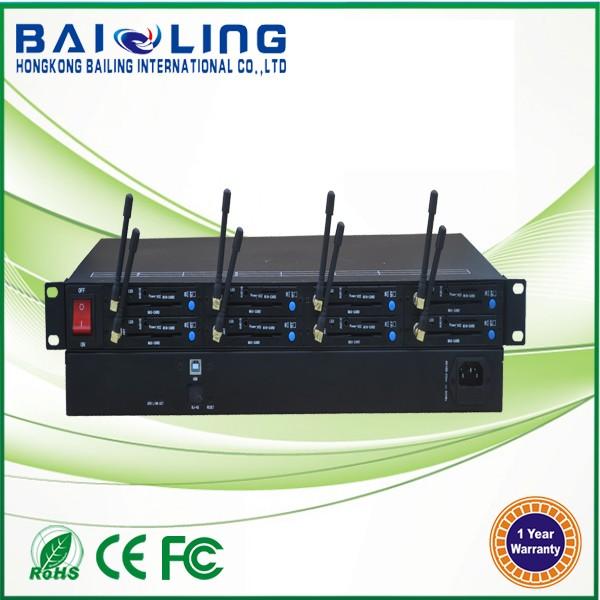 RJ45 Ethernet GSM Modem Bulk sms gateway 3G Modem multi sim card Base on SIMCOM SIM5215 3G Module Support STK USSD