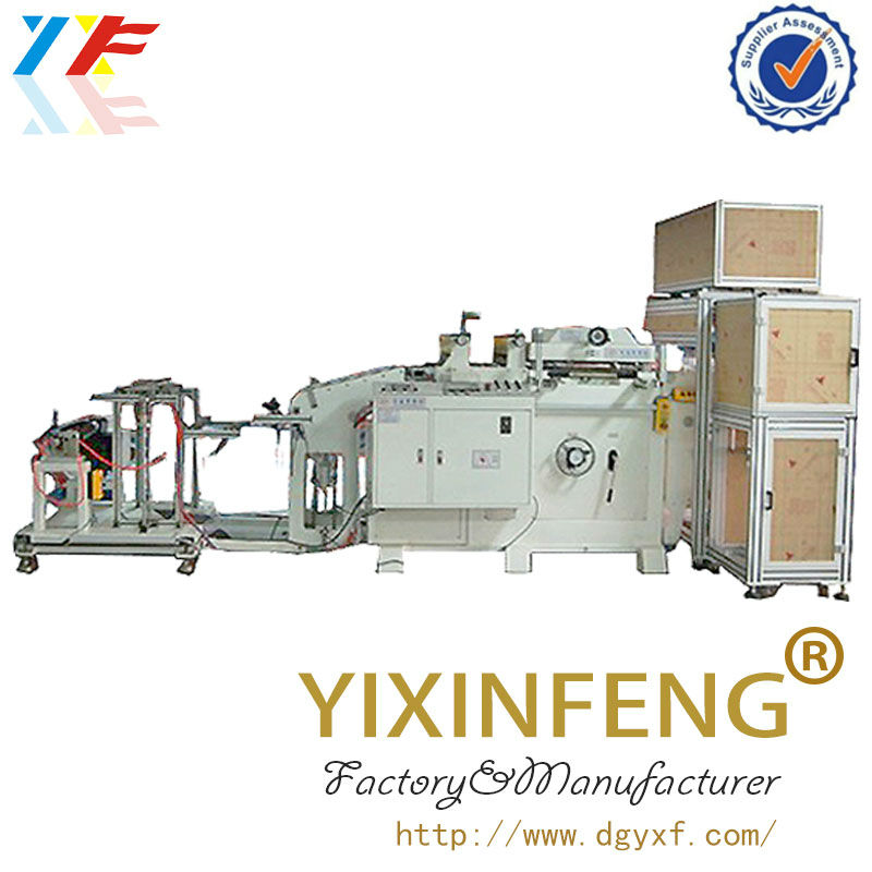 GF Battery pole piece die cutting machine series for auto battery