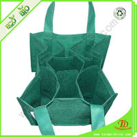 Non Woven Tote Bag Wholesale 6 Bottle Wine Bag