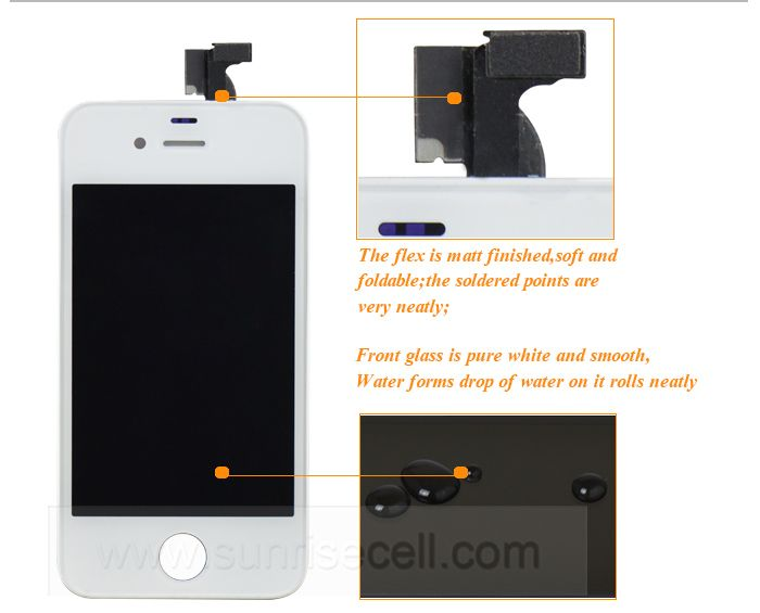 100% Fit iOS 11 Original For iPhone4 Lcd,Lcd For iPhone 4 Lcd Screen