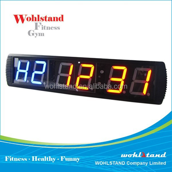 Remote control countdown outdoor digital led crossfit timer