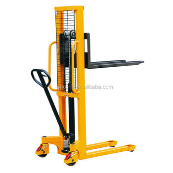 Hydraulic Hand Forklift Stacker with Foot Pedal