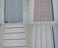 China flamed blind paving stone tactile tile, granite anti slip paving stone for walkways