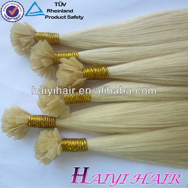 Wholesale European Double Drawn Brazilian 20Inch U Tip Wave Hair Extension