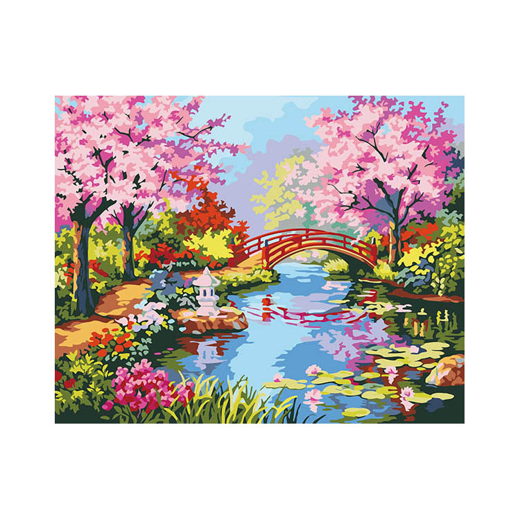 China wholesale home beauty pattern diy digital oil painting