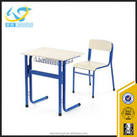 2016 High class furniture student desk and chair/educational furniture malaysia