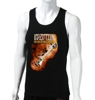Led Zeppelin men gym tank tops,fitness tank tops