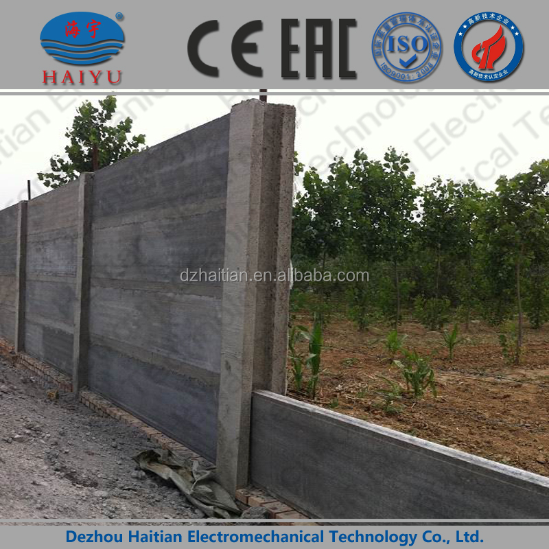 concrete fence mould,precast fence equipment