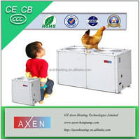 Commercial high efficiency heat pump heating and cooling