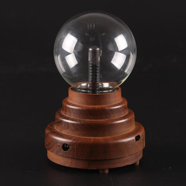 Trustworthy china supplier 3 inch plasma electrostatic crystal magic ball with light