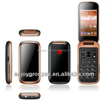 High quality W58 3G seniors android 4.2 latest flip phone with wifi