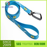 cheap custom chew proof retractable running printing nylon dog leash parts bulk buy from china