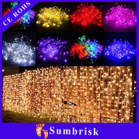 LED curtain light 3*3M 300LED Christmas laser light projector outdoor