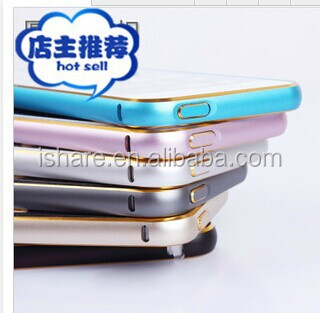 New thin Luxury Hard Aluminum Metal Frame Bumper Case For Apple iPhone5/5s