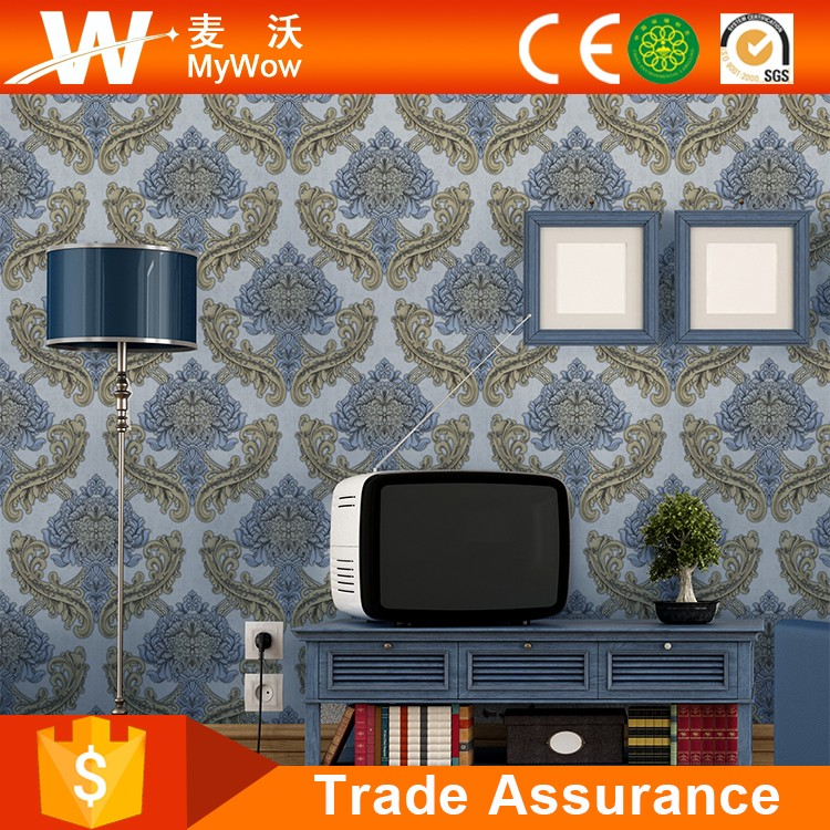 Manufacture Home Decorative Vinyl Korean Wallpaper