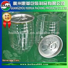 206# PET beverage easy open end can