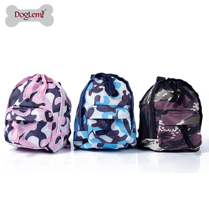 Dog Outdoor Backpack Pet Carrier Camping Bag