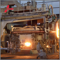 High Quality 15 tons steel smelting electric arc industrial furnace EAF