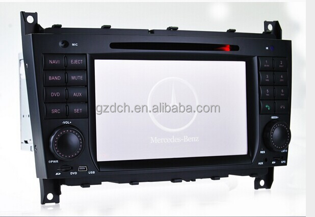 car dvd android for Mercedes Benz C-Class W203 (2004-2007) Benz CLC (2008-10) WS-8731