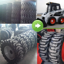 China cheap bobcat tire chains, 12x16.5 10x16.5 27x10.5-15 10-16.5 12-16.5 bobcat skidsteer tires for sale