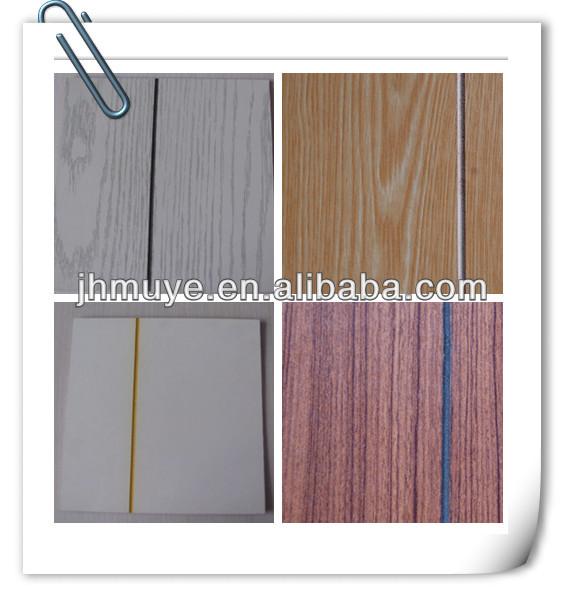 Ranuras de papel recubierto de madera contrachapada - Madera contrachapada precio ...