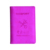 Custom Personalized PU Leather Passport Holder Card Holder