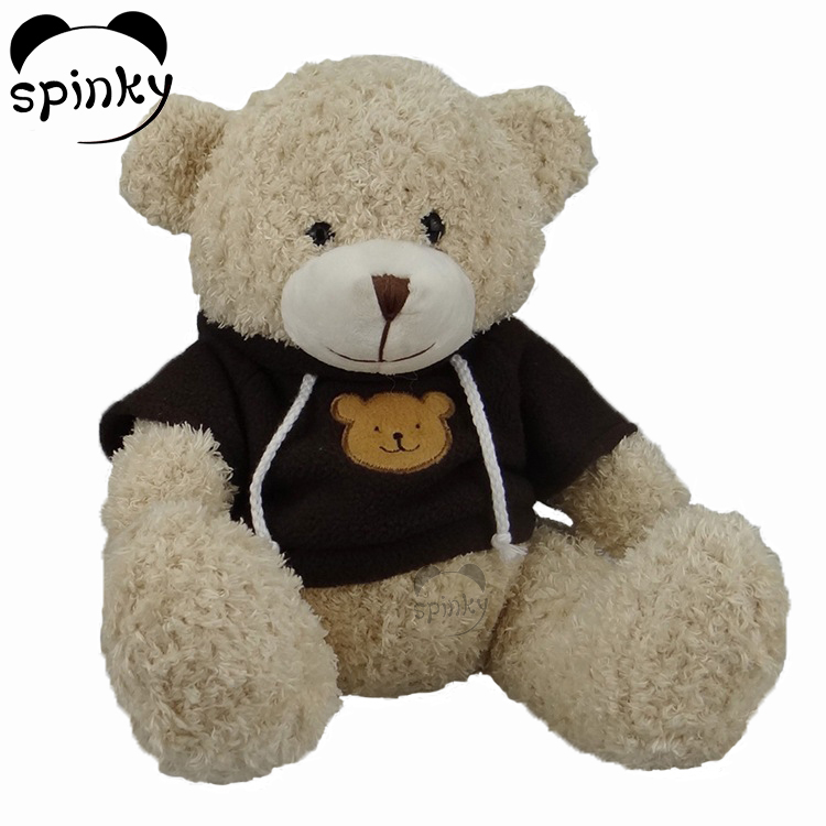 Soft Plush Baby Toys Stuffed Mini Teddy Bear With T-shirts