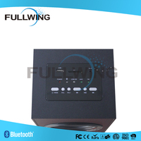 FW-1305D 2.O CHANNEL active usb wood speaker cabinets