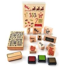 Wholesale Custom Wooden Stamp Rubber Craft Stamp for Card Making and DIY Craft