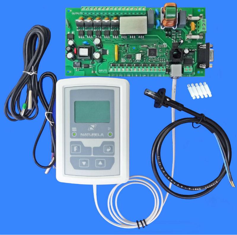Arduino PID controller for mixing valve actuator