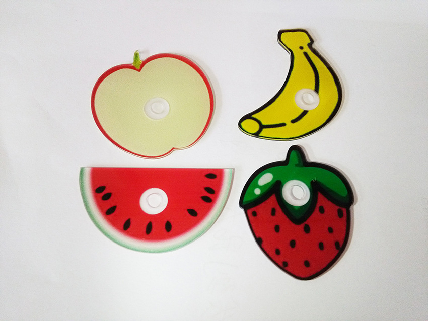 360 degree rotating Cute Fruit multifunction coutom design Mobile Phone Ring Holder Universial All mobile phone