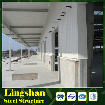 manufacture Reinforced Concrete Steel Structure