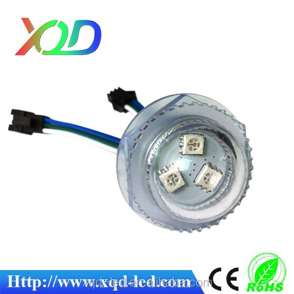 smd 5050 3LEDs RGB LED Pixel Module Light mini decoder with Clear cover Lens