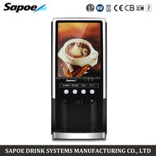 commercial fully automatic cappuccino tea time coffee machine with low price