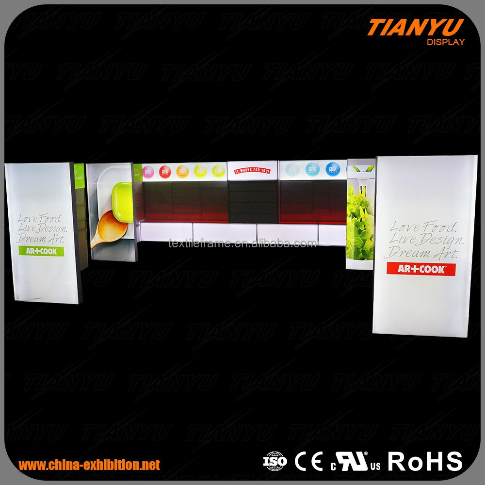 New style light box display rack for Kitchen Supplies