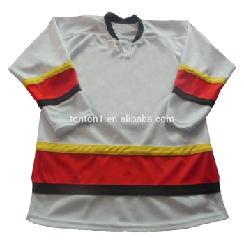 Wholesale Embroidery Practice Ice Hockey Jerseys