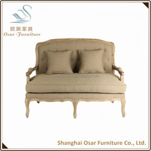 Home Goods Furniture Loveseat Wooden Upholstered Chair