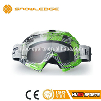 classic tear off helmet compatible CE certified motorcycle goggles