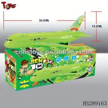 Plastic BEN10 airplane babies toys manufacturers