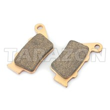 Semimetal sintered rear brake pad for KTM HUSQVARNA