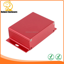 Electronic Shell Prototype Extruded Aluminum Electronic Enclosure/ Aluminum Extrusion Enclosure PCB Housing Box 104*28mm