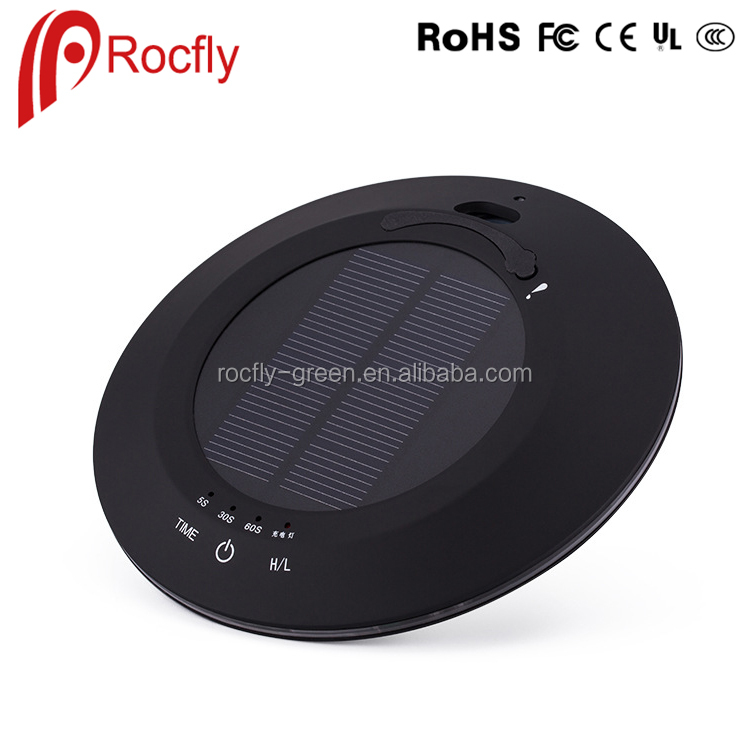Solar Car Air Purifier With Negative Ion deodorization Function USB Touch Ultrasonic Aroma Diffuser Humidifier