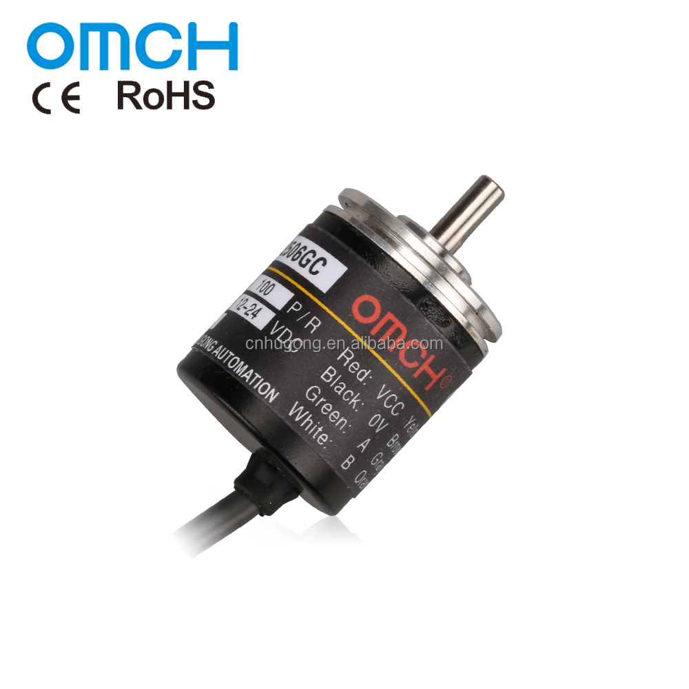 Z25S4 Series 25mm Outer Dia 4mm Shaft Dia Incremental Rotary Encoder