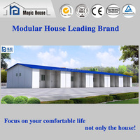 Fast Assembly Flat Pack Pre-Made prefab House low cost reusable labour camp/prefabricated house for sale