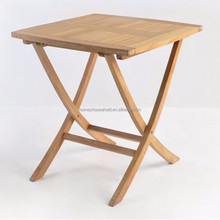 Yes Folded outdoor succinct structure wooden folding table coffee table