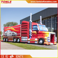 hot sale giant inflatable obstacle course, Truck Obstacle Course, Optimus Prime obstacle course