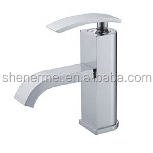single handle waterfall basin taps,faucets and mixers